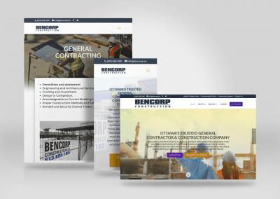 Bencorp Website Design Ottawa