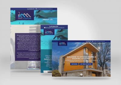 FL Siding Solutions Website Ottawa